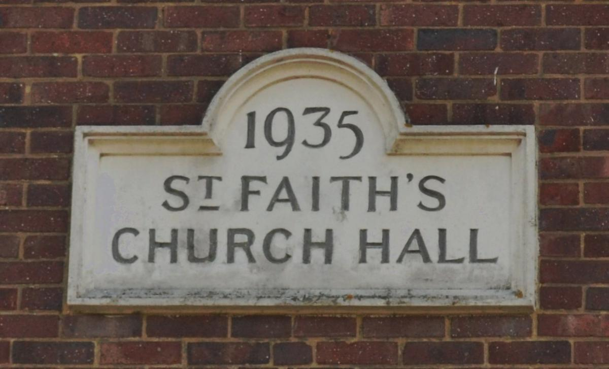St Faith's Church Hall 1935